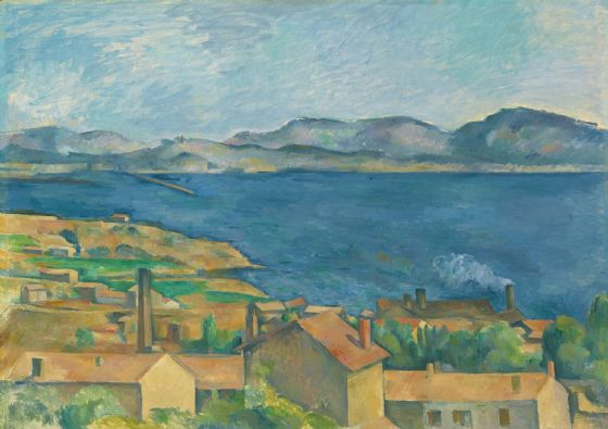Cezanne, Paul: The Bay of Marseilles, Seen from L'Estaque. Fine Art Print/Poster. Sizes: A4/A3/A2/A1 (004208)